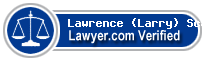 Lawrence (Larry) F. Scalise  Lawyer Badge