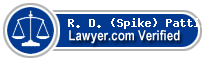 R. D. (Spike) Pattillo III  Lawyer Badge