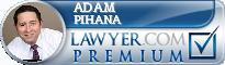 Adam P. Pihana  Lawyer Badge