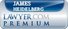 James M. Heidelberg  Lawyer Badge