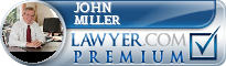 John A Miller  Lawyer Badge
