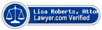 Lisa M. Roberts, Attorney  Lawyer Badge