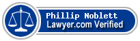 Phillip A. Noblett  Lawyer Badge