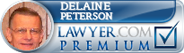 Delaine C. Peterson  Lawyer Badge