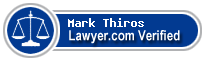 Mark A. Thiros  Lawyer Badge