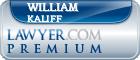 William Wade Kaliff  Lawyer Badge