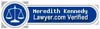 Meredith L Kennedy  Lawyer Badge