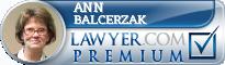 Ann M. Balcerzak  Lawyer Badge