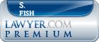 S. Robert Fish  Lawyer Badge