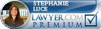 Stephanie Luce  Lawyer Badge