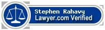 Stephen P. Rahavy  Lawyer Badge