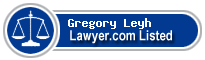 Gregory Leyh Lawyer Badge