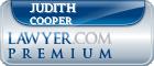 Judith G. Cooper  Lawyer Badge