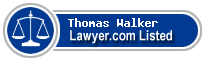 Thomas Walker Lawyer Badge