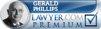 Gerald F. Phillips  Lawyer Badge