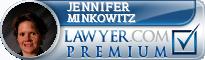 Jennifer T Minkowitz  Lawyer Badge