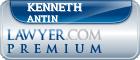 Kenneth H. Antin  Lawyer Badge