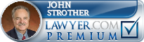 John F. Strother  Lawyer Badge