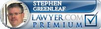 Stephen N. Greenleaf  Lawyer Badge