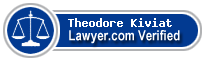 Theodore B. Kiviat  Lawyer Badge