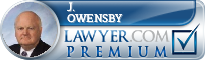 J. Richard Owensby  Lawyer Badge
