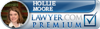 Hollie Randall Moore  Lawyer Badge