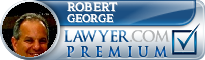 Robert A. George  Lawyer Badge