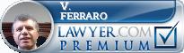 V. James Ferraro  Lawyer Badge