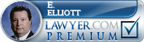 E. Glenn Elliott  Lawyer Badge