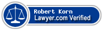 Robert A. Korn  Lawyer Badge