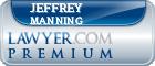 Jeffrey J. Manning  Lawyer Badge