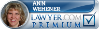 Ann Wehener  Lawyer Badge