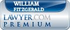 William E. Fitzgerald  Lawyer Badge