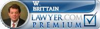 W. Evans Brittain  Lawyer Badge