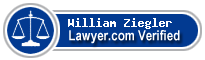 William J. Ziegler  Lawyer Badge