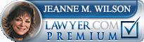 Jeanne M. Wilson  Lawyer Badge