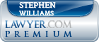 Stephen L Williams  Lawyer Badge