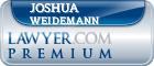 Joshua P. Weidemann  Lawyer Badge