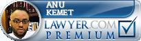 Anu B. Kemet  Lawyer Badge