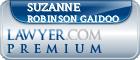 Suzanne L. Robinson Gaidoo  Lawyer Badge