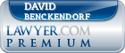 David A. Benckendorf  Lawyer Badge
