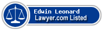 Edwin Leonard Lawyer Badge