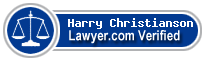 Harry W. Christianson  Lawyer Badge
