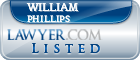 William Phillips Lawyer Badge
