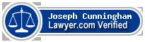 Joseph Francis Cunningham  Lawyer Badge