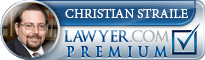 Christian A. Straile  Lawyer Badge