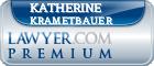 Katherine Krametbauer  Lawyer Badge