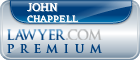 John B. Chappell  Lawyer Badge
