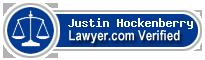 Justin D. Hockenberry  Lawyer Badge