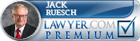 Jack E. Ruesch  Lawyer Badge